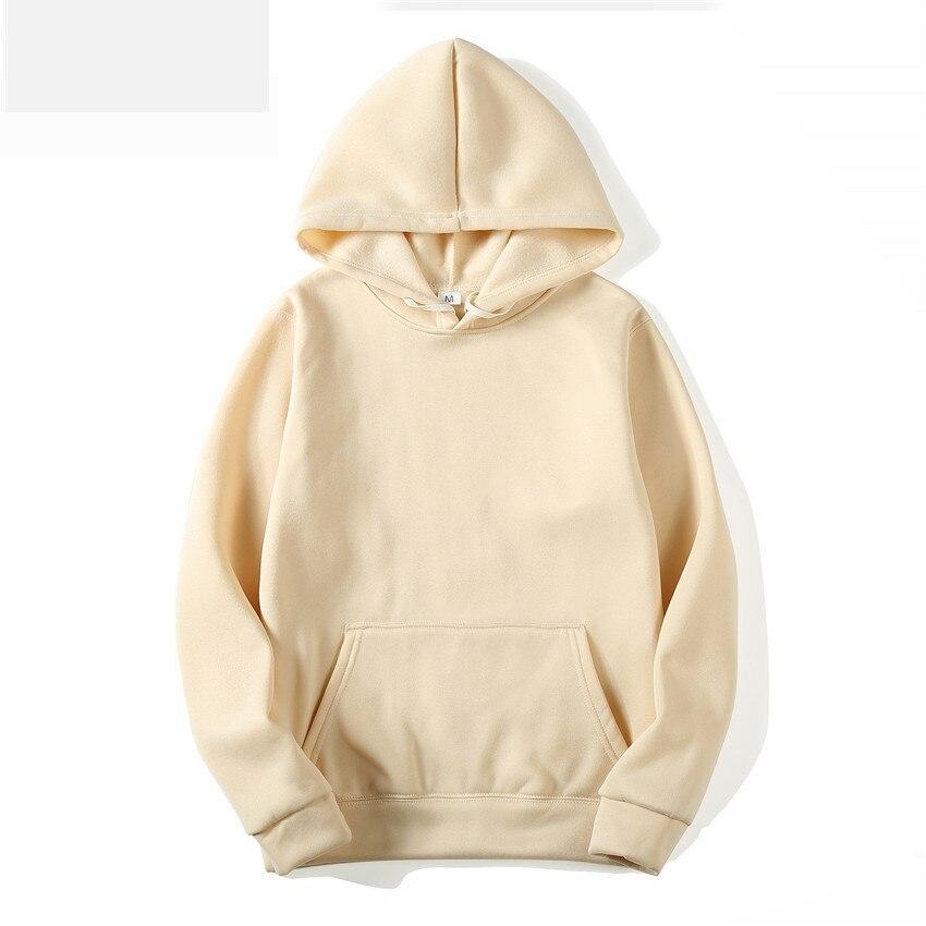 MRMT 2021 Brand Men's Hoodies Sweatshirts Leisure Pullover for Male Solid Color Long Sleeve Hoodie Sweatshirt