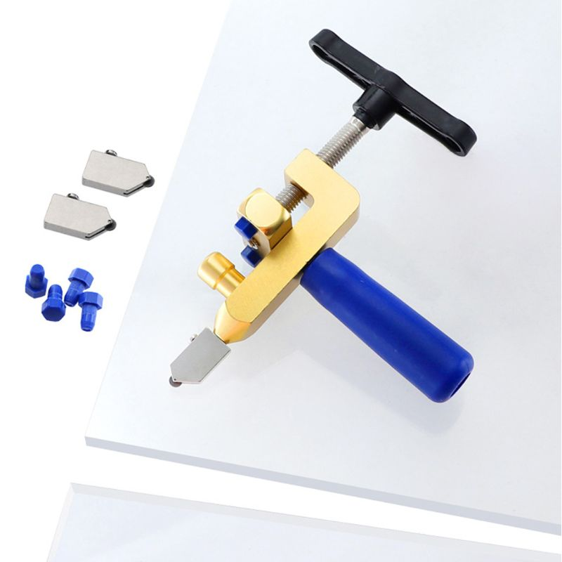 Manual One-piece Tile Cutter for Cutting Ceramic Tiles Glass Tile Opener Portable Multifunctional Construction Tool A69D