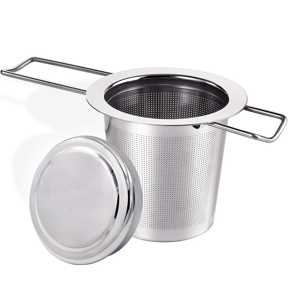megairon bspt 1 1 4 dn32 cf8m wye filter valve stainless steel ss316 valve with 1 00mm strainer mesh 800wog Double Handles Tea Infuser with Lid Stainless Steel Fine Mesh Coffee Filter Teapot Cup Hanging Loose Leaf Tea Strainer