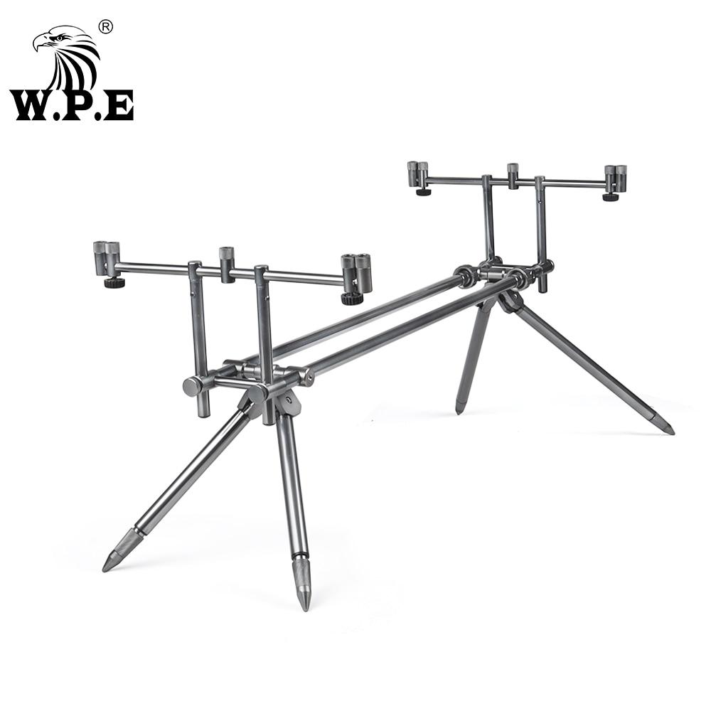 W.P.E rod support carp fishing rod bracket adjustable telescopic fishing rod telescopic folding bracket fishing tackle accessori
