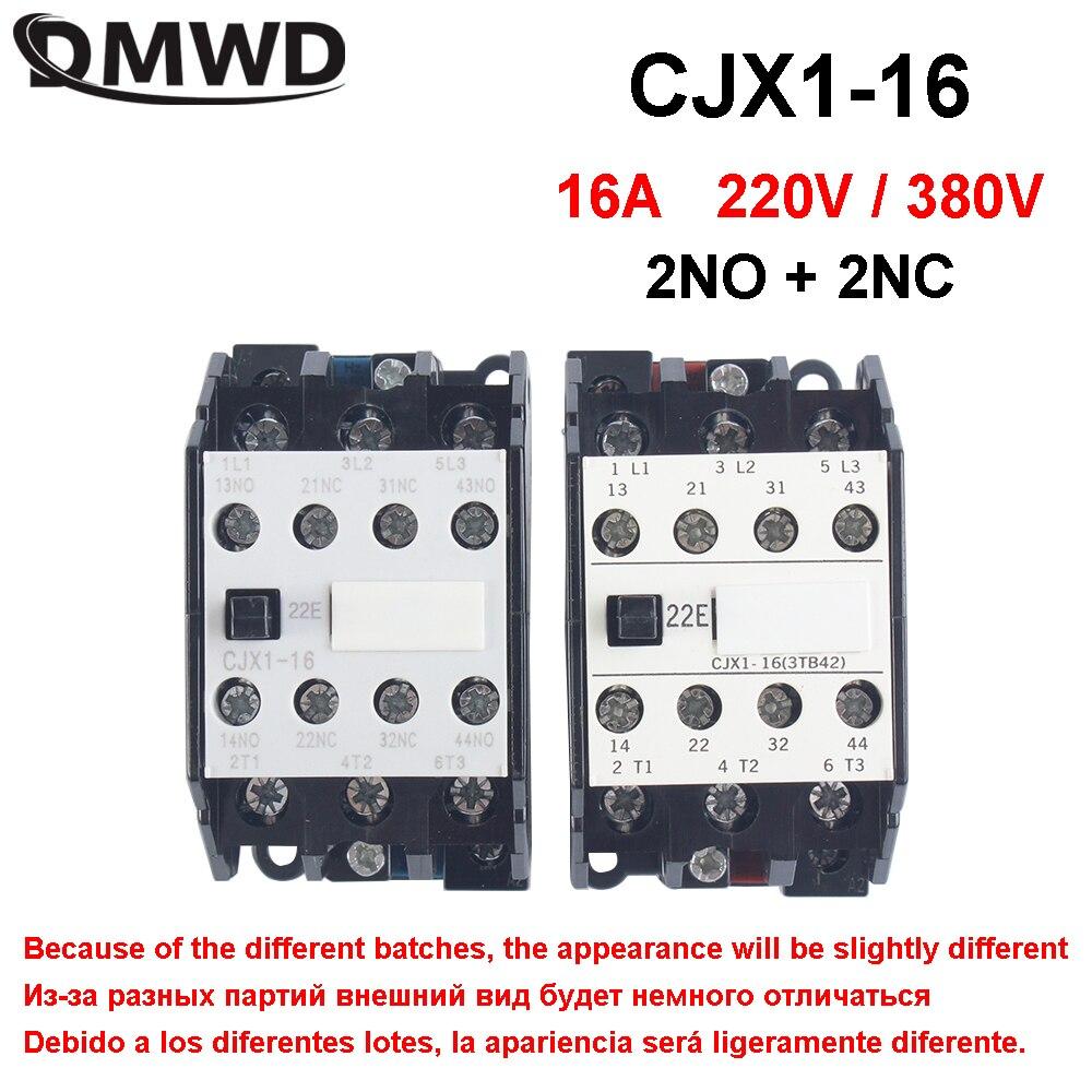 CJX1 3TB CJX1-16/22 3tb42-220v contactor ac 220V AC 16A 50HZ/60HZ Original