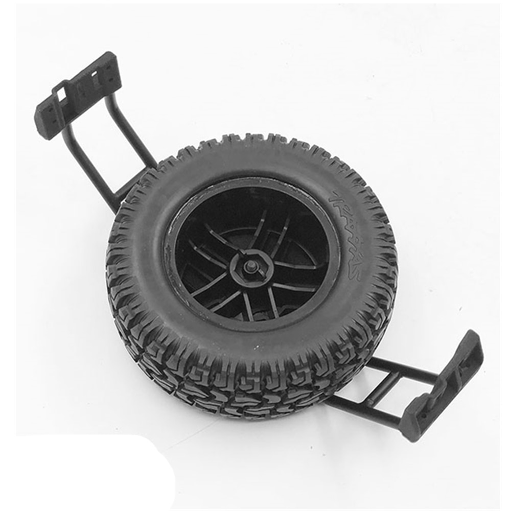 Body Spare Tires Metal Mount For Rc Car 1:10 Traxxass Trx4 4X4 G500 Remote Control Toys Buggy Rc Crawler Accessories enlarge