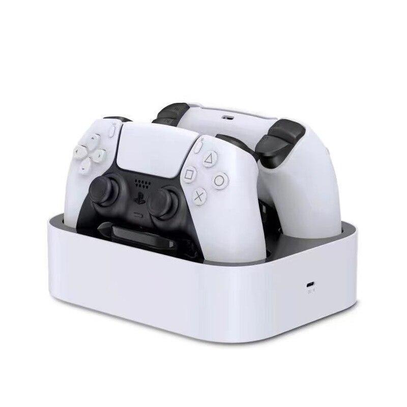 Зарядное устройство для Sony PlayStation5 беспроводной контроллер Type-C USB двойная Быстрая зарядка подставка Док-станция для PS5 джойстик геймпады