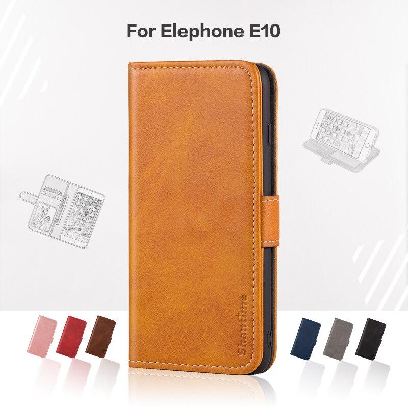 Flip Abdeckung Für Elefon E10 Business Fall Leder Luxus Mit Magnet Brieftasche Fall Für Elefon E10 Telefon Abdeckung