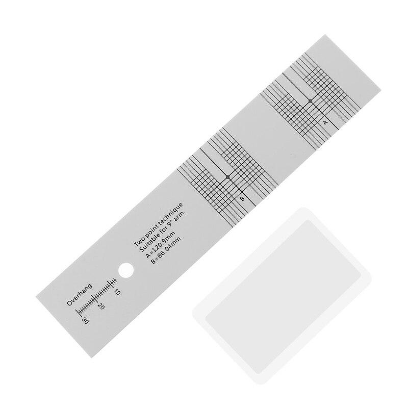 Пикап калибровки расстояние Измеритель угломер записи LP Виниловый