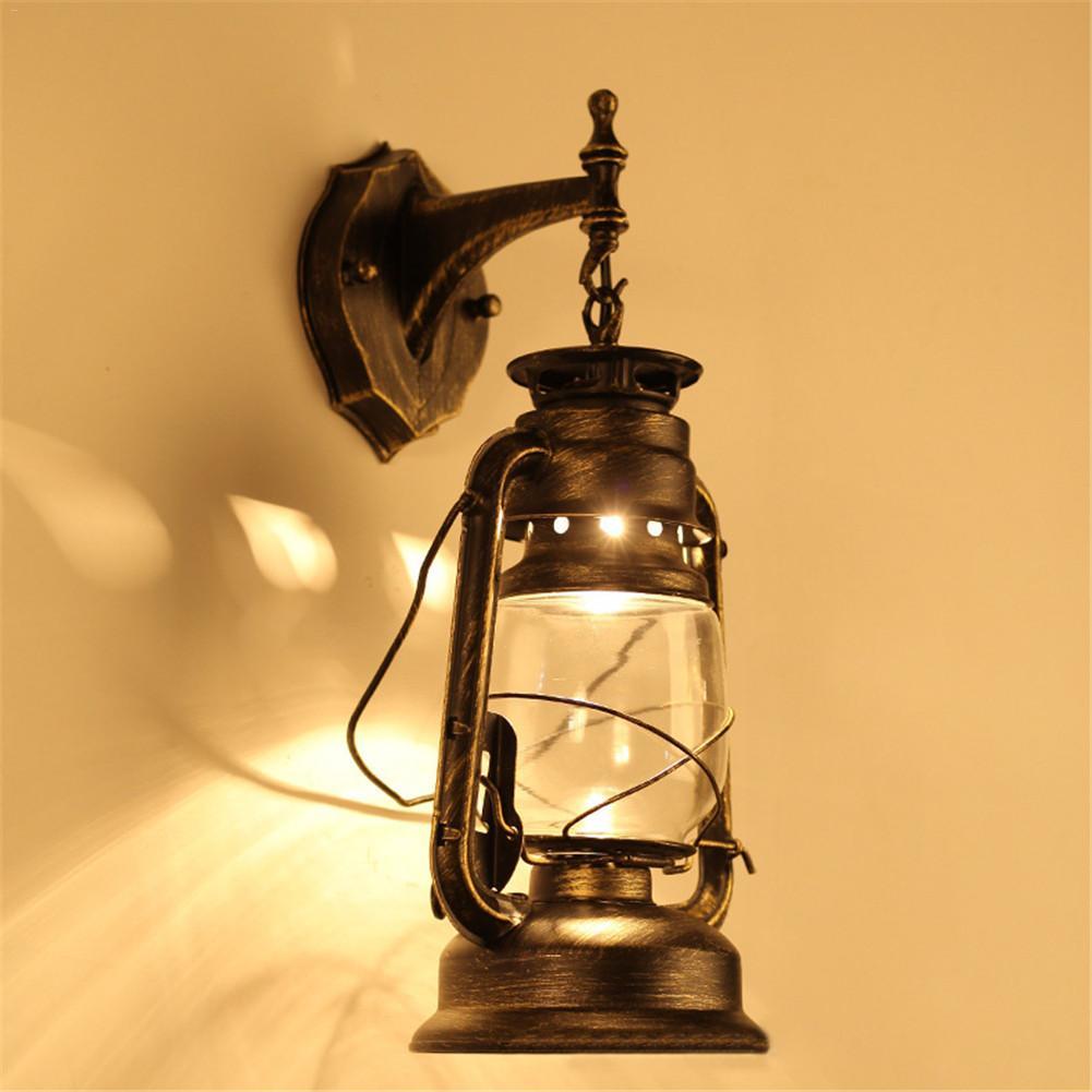 E27 LED Vintage Edison LED Wall Light Modern Corridor Vintage Retro Industrial 220V Wall Lamp Led W-filament Indoor LED Light