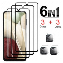 on For Samsung Galaxy A12 Camera Lens Film screen Protectors Protective Glass for samsung a 12 SM-A1
