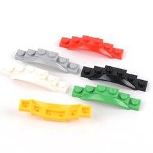 Block Auto Moc Baut Partikel 1x6 kotflügel diy Bausteine Teile Pädagogisches Kreative Geschenk Spielzeug für Kinder