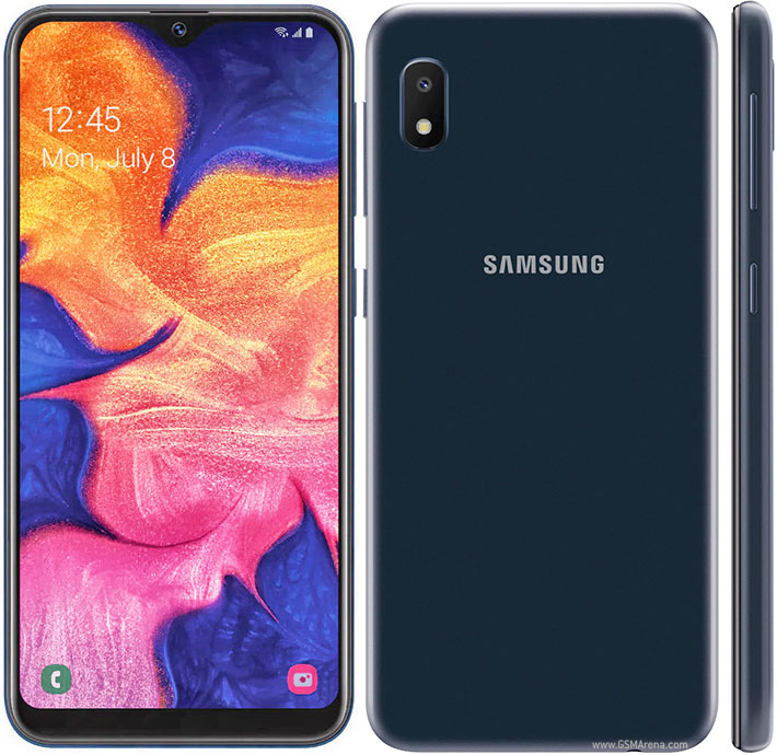 Разблокированный Samsung Galaxy A10e(105F), экран 5,83 дюйма, 2 Гб ОЗУ 32 Гб ПЗУ, камера 8 МП, Android