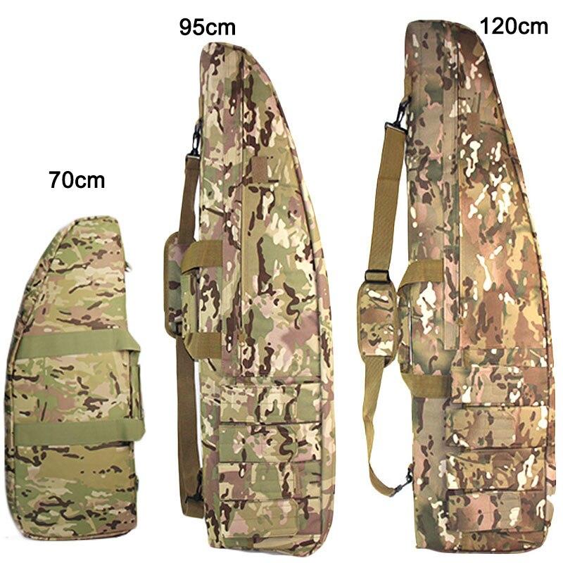 Bolsa de Arma Bolsa à Prova Caça ao ar Tático Militar Rifle Dwaterproof Água Transportando Mochila Ombro Case Arma Livre Acessórios 70cm 95cm 120cm