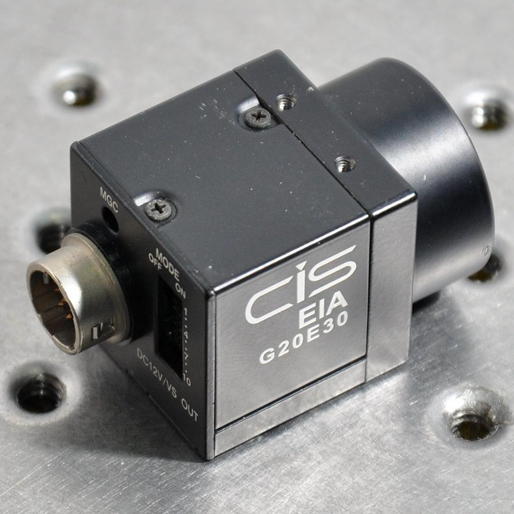 CIS EIA G20E30 industrial camera CCD 12VDC 1.8W vision system eia uus kahe näoga jumal