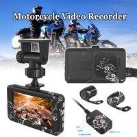motorcycle camera video recorder dvr dash cam 1080p full hd wide angle dual lens night vision waterproof multilanguage dashcam