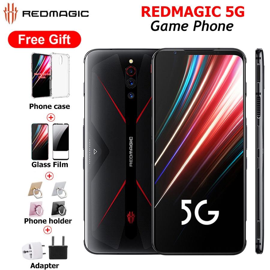 "Global Version Nubia Red Magic 5G 12GB 256GB Gaming SmartPhone 128GB 8GB 6.65"" Snapdragon 865 NFC Redmagic 5G Game Mobile Phone"