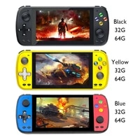 handheld game console 5 1inch hd screen game console ps5000 double video gaming player built in 3000 classic game for kids gift