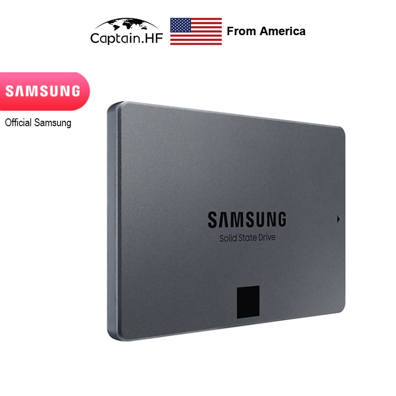 US Captain 860 QVO SSD 2TB - 2.5 Inch SATA 3 Internal Solid State Drive with V-NAND Technology (MZ-76Q2T0B/BW)