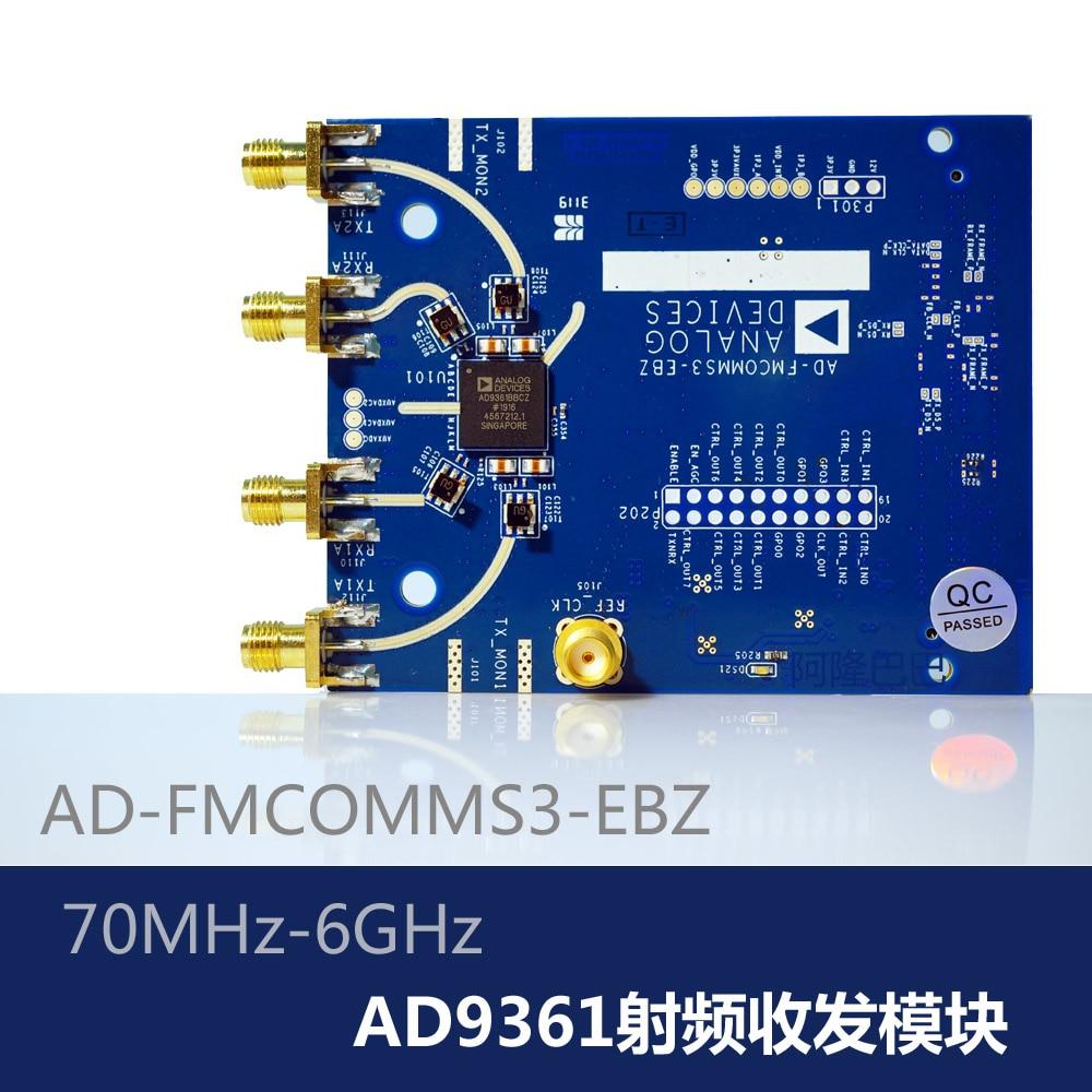 AD9361 Placa de desarrollo AD-FMCOMMS3-EBZ Software de MÓDULO TRANSCEPTOR RF Radio SDR
