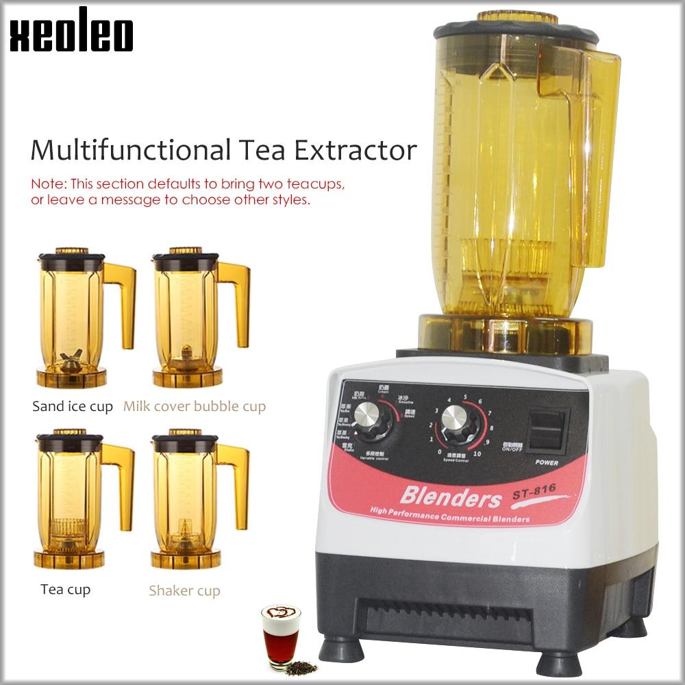 XEOLEO Tea breawing machine Bubble tea Teapresso machine Multifuction Food blender shaking machine Smoothie maker brew cream