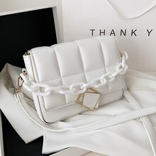 High Quality Fashion Chain Shoulder Bags for Women 2021 New Literary Designer Minority Trendy Ladies