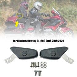 1 par preto motocicleta traseira do passageiro braços serve para honda gold wing 1800 gl1800 goldwing f6c 2018 2019 2020 modelos Molduras ornamentais e capas    -