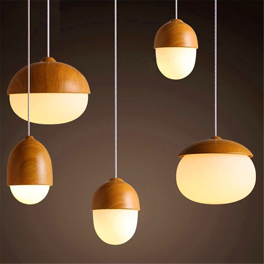 LOFT Vintage LED Pendant Lights Lighting Dining Bar Grain Shop Pendant Lamp Coffee Dining Hall Indoor Bedroom Kitchen Fixtures