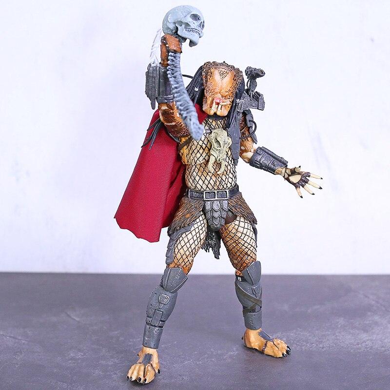 NECA Predator AHAB Última edición PVC figura de acción conjunto figura móvil modelo de juguete