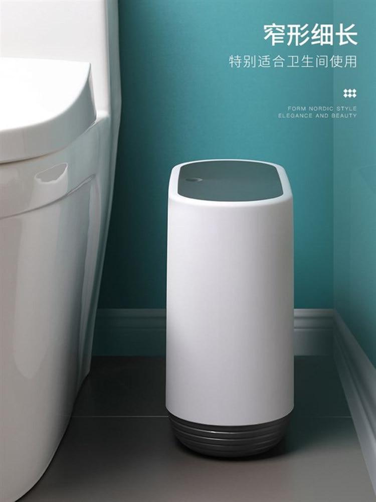Trash Can Zero Waste Storage Bin Trash for Kitchen Trash Bucket Dustbin Recycling Bin Garbage Bag Lixeira Trash Can AC50LT enlarge