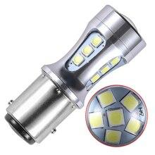T15 Led ampoule W16W Led Canbus 18W 3030 18SMD Super lumineux voiture inverse lumières de secours 6000K blanc 12V Auto voiture LED clignotant