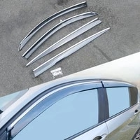 for bmw 1 series f20 hatchback 2010 2019 car window sun rain shade visors shield shelter protector cover trim frame sticker
