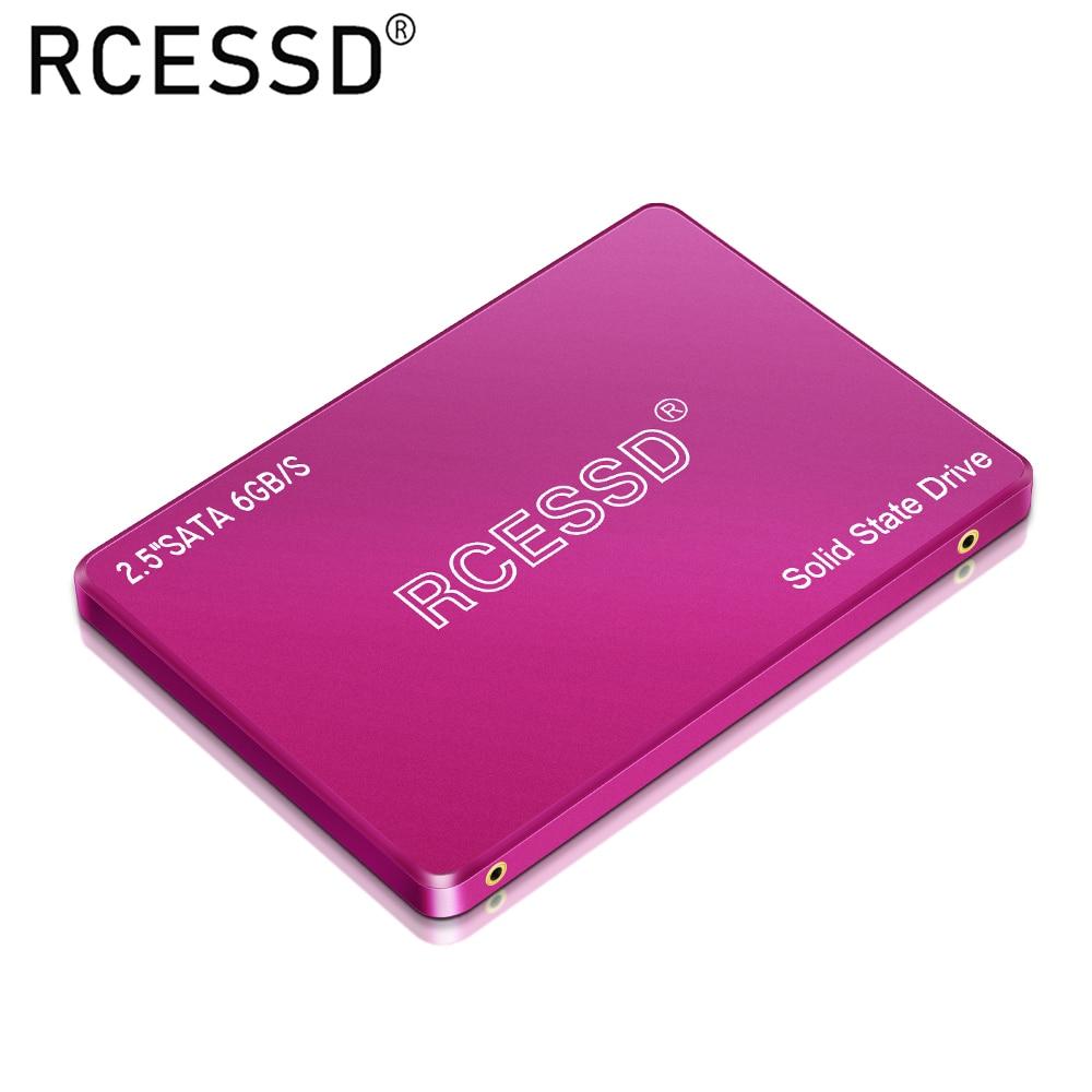 RCESSD Pink SSD 128GB 240GB 480GB 360GB 2.5-inch SATA3 Solid State Drive 512GB 64GB HDD PC