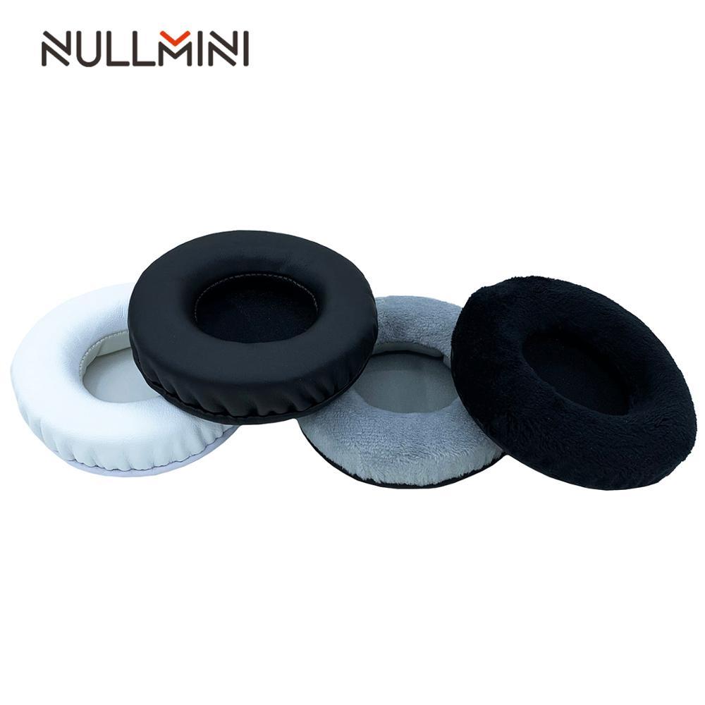 NullMini Replacement Earpads for Bluedio H+ Headphones Leather or Velvet Earphone Earmuff