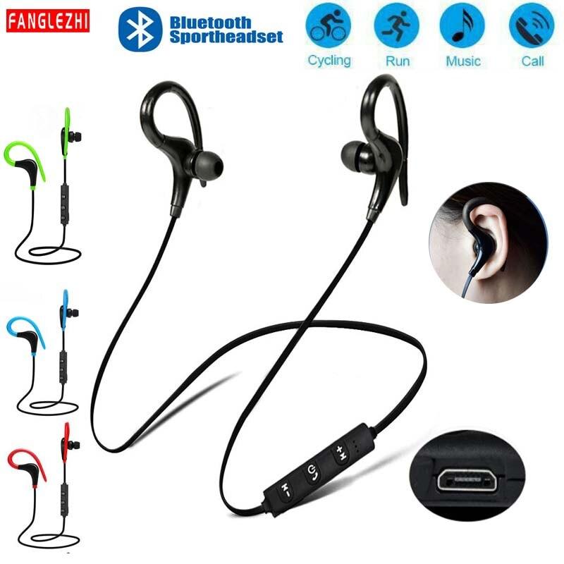 Ушные телефоны Bluetooth Беспроводные наушники с нашейным ободом с микрофоном Bluetooth наушники спортивные для samsung Xiaomi для смартфонов