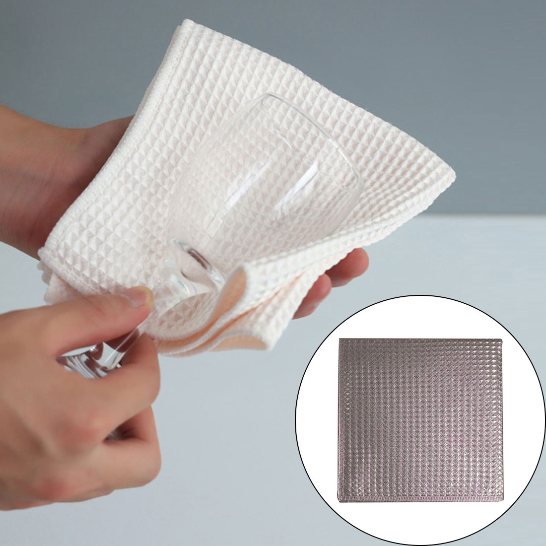 5pcs microfiber cleaning towel super absorbable window glass cleaning cloth kitchen anti grease wiping rags washing dish cloth 2pcs Anti-grease Wiping Rags Kitchen Efficient Super Absorbent Microfiber Cleaning Cloth Home Washing Dish Cleaning Towel