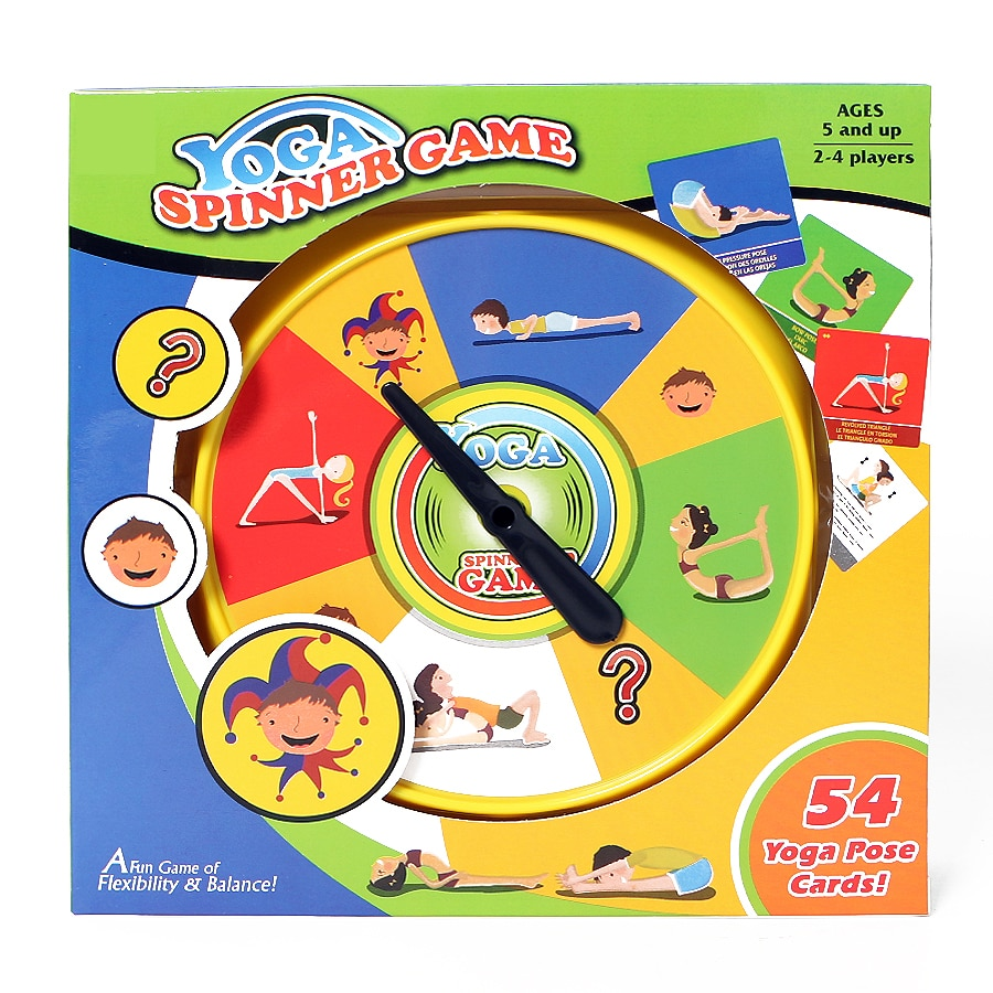 5Yoga Pose Cards Game Toys Fun Family Party for Children Adult Flexibility and Balance Physical Sports s  - buy with discount