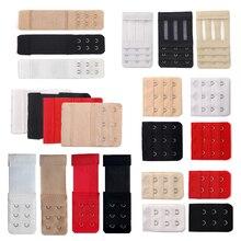 Extension de soutien-gorge Lingerie sangle Extender remplacement avec 1/2/3/4 crochets barre Extender réglable ceinture boucle intimes 3/4/6/8 pièces