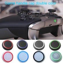 اللونين المطاط الروك كاب سيليكون كم المضادة للانزلاق المطاط الكريات الفطر رئيس ل PS4/XBOXone/ XBOX360/PS3