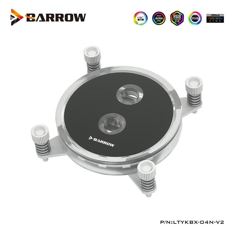 بارو وحدة المعالجة المركزية كتلة المياه متوافق إنتل X99 ، X299 منصة اللوحة 2011,2066 برودة ، أبيض ، أسود ، G1/4