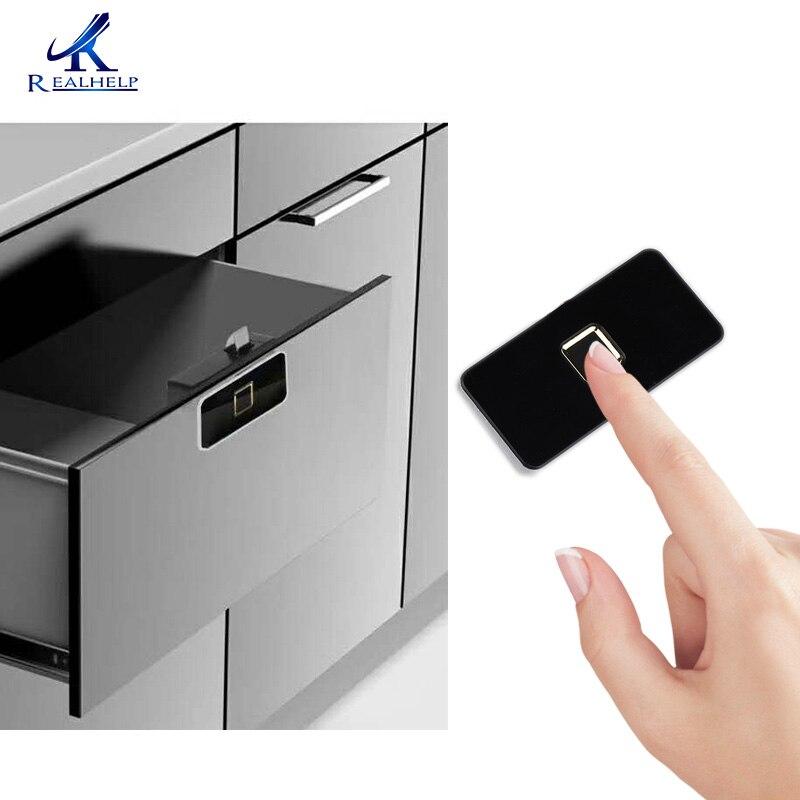 Fingerprint Recognition Device Wireless security battery fingerprint lock for office for Home Office