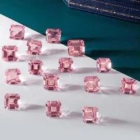 natural loose stone sri lanka morganite pink diamond gemstone sapphire beads heart diy of jewelry silver ring earrings necklac