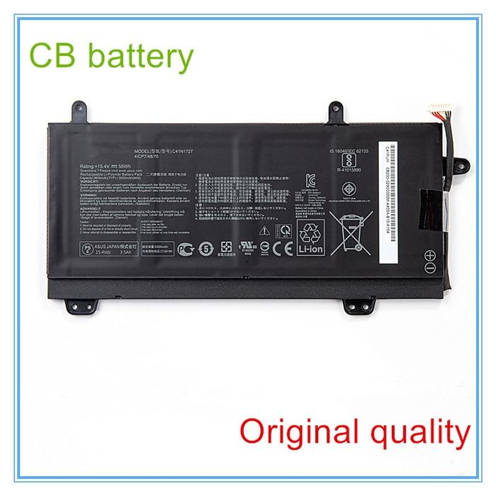 Qualidade Original Da Bateria Do Portátil para GM501 GM501GM GM501GS C41N1727 0B200-02900000 15.4V 55WH