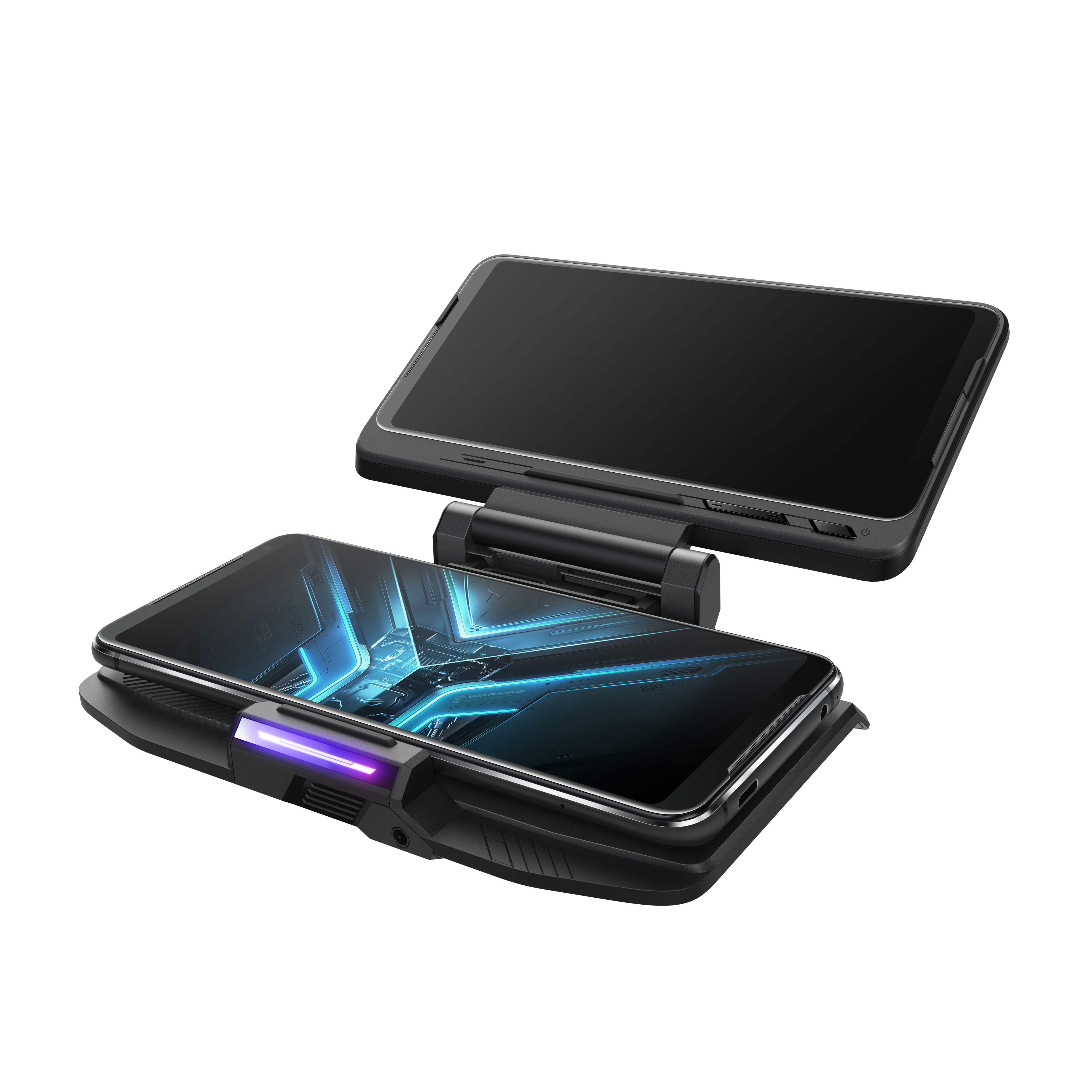 ثنائي الشاشة تصميم TwinView حوض 3 محطة ل ASUS ROG الهاتف 2 3 لعبة المحمول وحدة