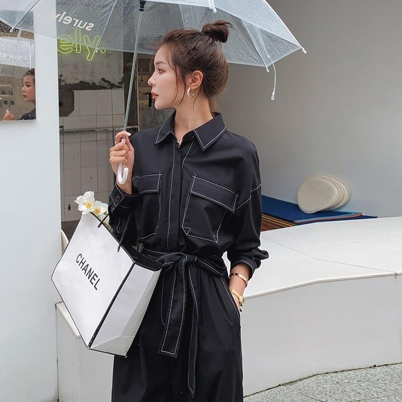 Odzież robocza kombinezon z długim rękawem 2021 kombinezon wiosenny i jesienny damski