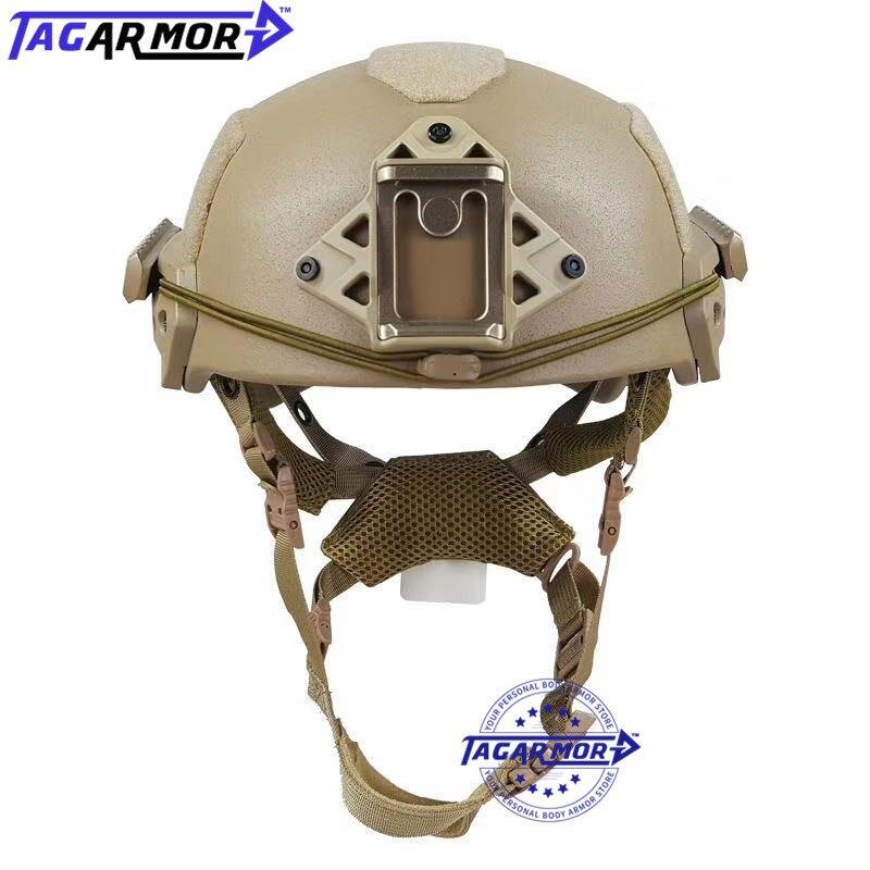 لنا. NIJ Level IIIA خوذة واقية من الرصاص العسكرية التكتيكية التدريب العسكري خوذة الباليستية القتالية