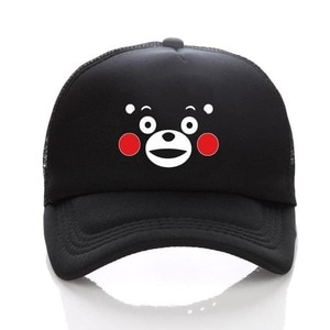 anime Hot Cartoon Kumamon hat Baseball Cap Embroidery Snapback Whimsy Hats for Men Women