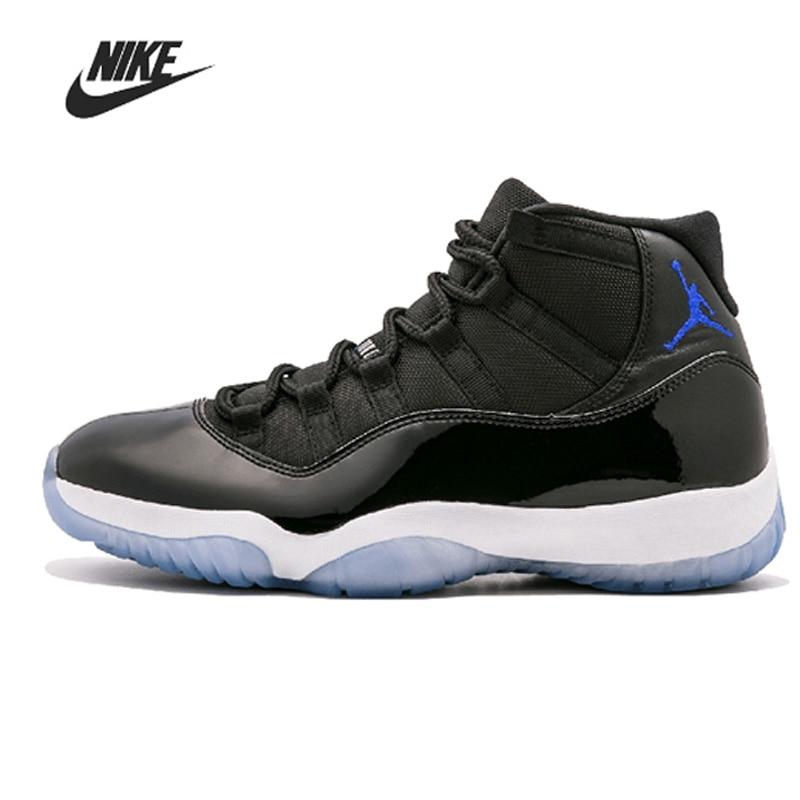 Nike Air Jordan 11 мужская баскетбольная обувь, оригинальная платиновая тонированная кепка и бальное платье UNC для тренажерного зала, красный, гамм...