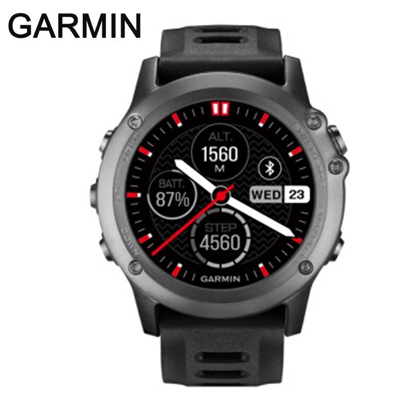 original GARMIN fenix 3 GPS sports watch fitness running swimming diving  100m waterproof bluetooth compass smart  watch men