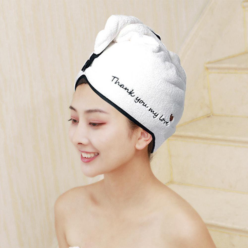 Rapided تجفيف الشعر منشفة سريعة الجافة الشعر قبعة ملفوفة منشفة قبعة الاستحمام المنزلية مستلزمات ضرورية يومية