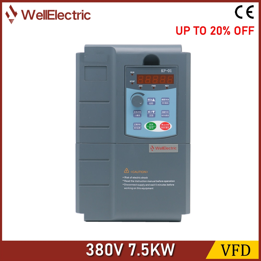 VFD Inverter 5.5KW/7.5KW/11KW/15KW/18.5KW 380V V/F control for Motor Speed Control Frequency Inverter freeshipping 11kw 3 phase 380v 25a frequency inverter vsd vector control 11kw frequency inverter vfd 11kw