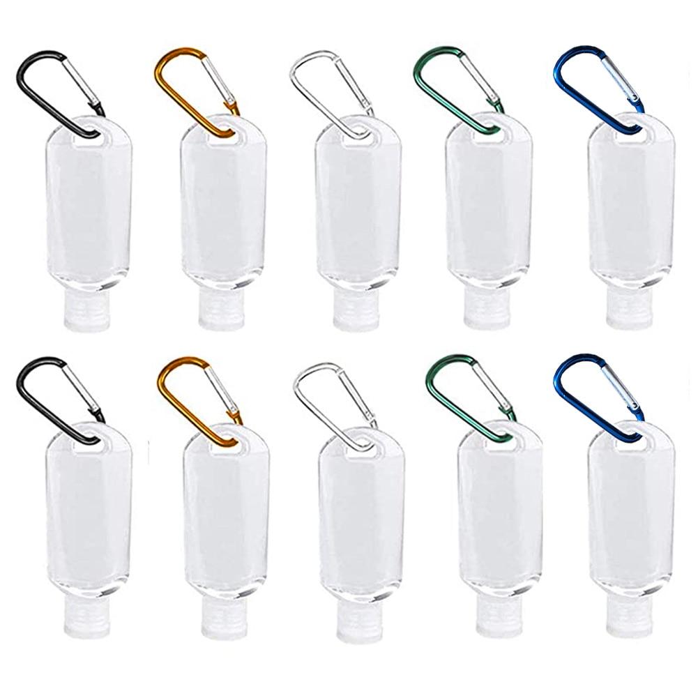 10 шт., пластиковые бутылки для жидкости с крючком, 50 мл
