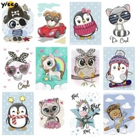 full squareround drill diamond embroidery diamond painting love cartoon animals cross stitch rhinestone mosaic decor gift ax08