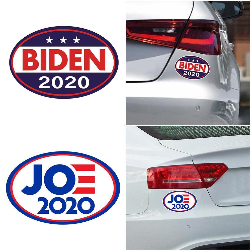 Impresión de letras para interiores y exteriores, removible, elección presidencial, impermeable, PVC para ordenador portátil, adhesivo Auto adhesivo Joe Biden 2020